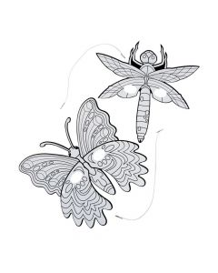 Color Your Own Bug and Butterfly Masks
