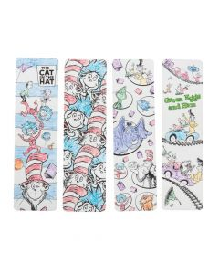 Color Your Own Dr. Seuss Bookmarks