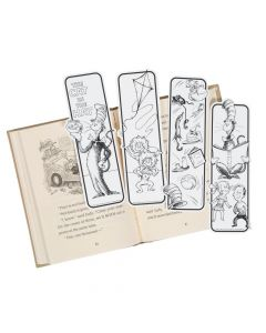 Color Your Own Dr. Seuss™ The Cat In The Hat™ Bookmarks