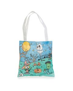 Color Your Own Halloween Bags
