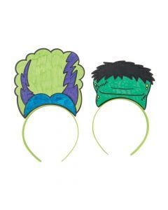 Color Your Own Halloween Monster Headbands