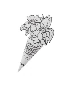 Color Your Own Mother's Day Bouquets