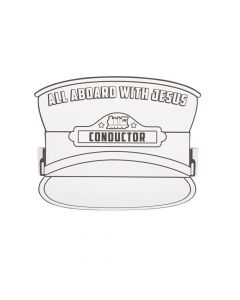 Color Your Own Railroad VBS Conductor Hats