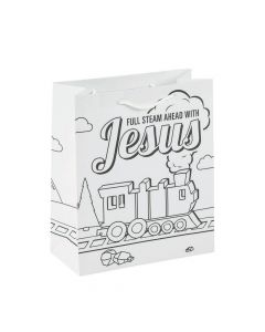 Color Your Own Railroad VBS Medium Take Home Bags