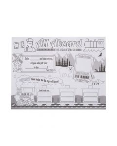"""Color Your Own """"Railroad VBS"""" Posters"""