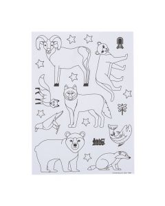 Color Your Own Railroad VBS Stickers