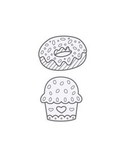Color Your Own Sweet Treat Magnets