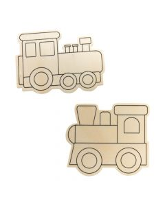 Color Your Own Trains