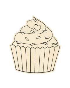 Color Your Own Valentine Cupcakes