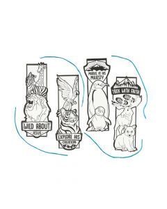 Color Your Own Wild Encounters VBS Bookmarks