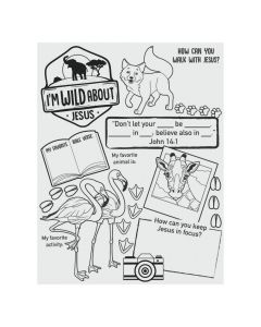 Color Your Own Wild Encounters VBS Posters