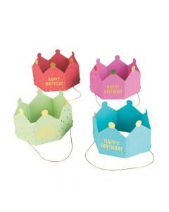 Colorful Birthday Crowns