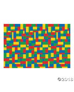 Colour Brick Party Backdrop