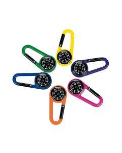 Compass Clip Keychains