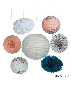 Confetti Design Hanging Decoration Kit