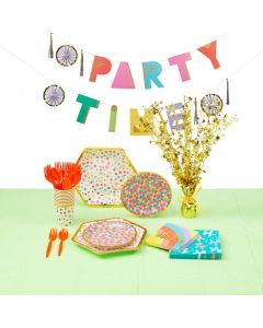 Confetti Party Tableware Kit for 8
