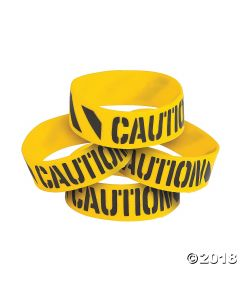Construction Big Band Rubber Bracelets