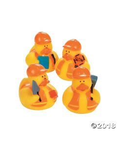 Construction Rubber Duckies