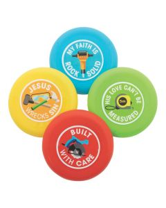 Construction VBS Flying Discs