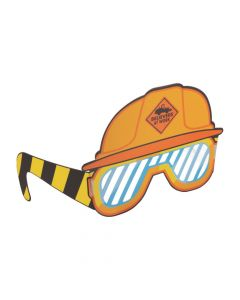 Construction VBS Hard Hat with Shutter Glasses