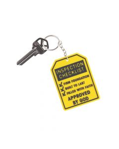 Construction VBS Keychains