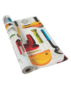 Construction VBS Plastic Tablecloth Roll