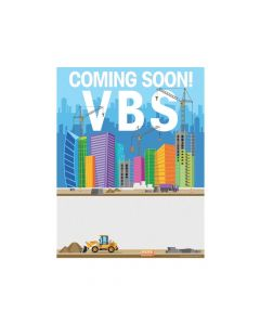 Construction VBS Promotional Posters