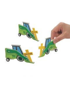 Construction VBS Pull-Back Truck Craft Kit