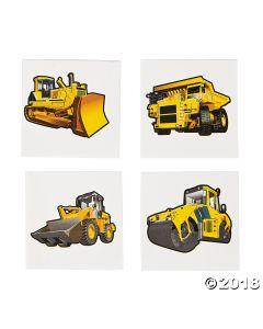 Construction Zone Tattoos