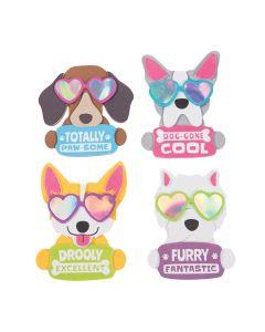 Cool Dog Valentine's Day Magnet Craft Kit