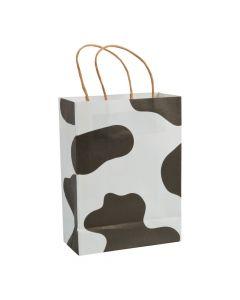 Cow Print Kraft Paper Bags