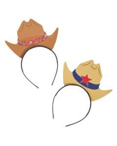 Cowboy Hat Headbands