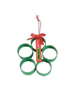 Craft Tube Christmas Wreath Craft Kit