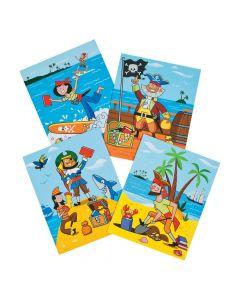 Crazy Pirates Pocket Folders