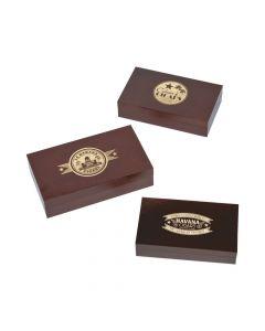 Cuban Party Cigar Box Centerpieces