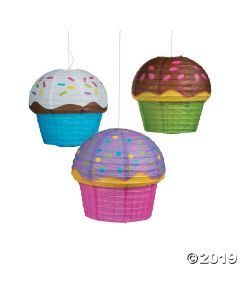Cupcake Paper Lanterns