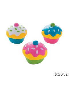 Cupcake Squish Toys