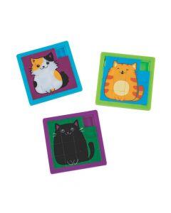 Cute Cat Slide Puzzles