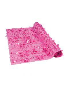Dark Pink Floral Sheeting Backdrop
