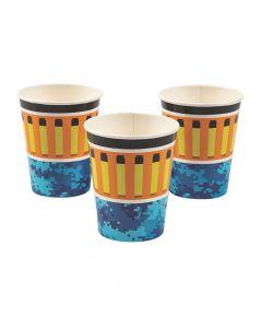 Dart Battle Party Paper Cups