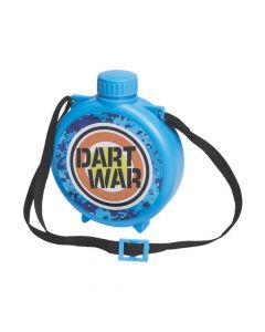 Dart Battle Party Plastic Canteens