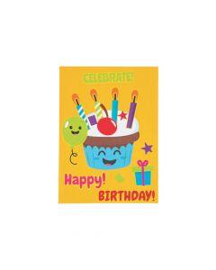 Decorate a Cupcake Mini Sticker Scenes