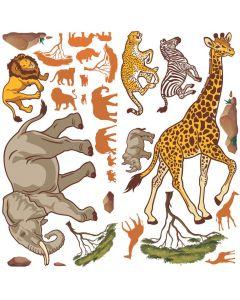 Design-A-Room African Safari VBS Backdrop Set