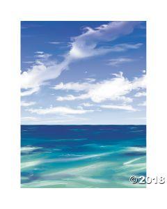 Ocean Backdrop Room Roll