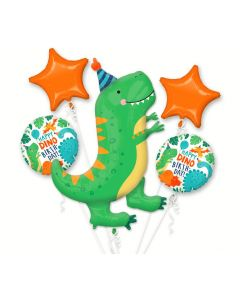 Dinomite  Dinosaur Party Foil Balloon Bouquet