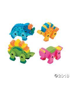 Dinosaur Movable Erasers