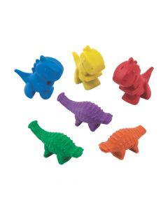 Dinosaur-Shaped Crayons