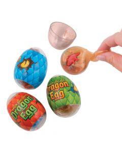 Dinosaur Slime-Filled  Eggs - 12 Pc.