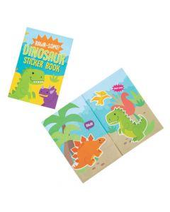 Dinosaur Sticker Scene Books