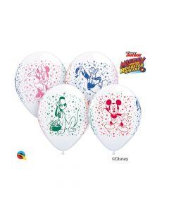 """Disney Mickey and His Pals 11"""" Latex Balloons"""